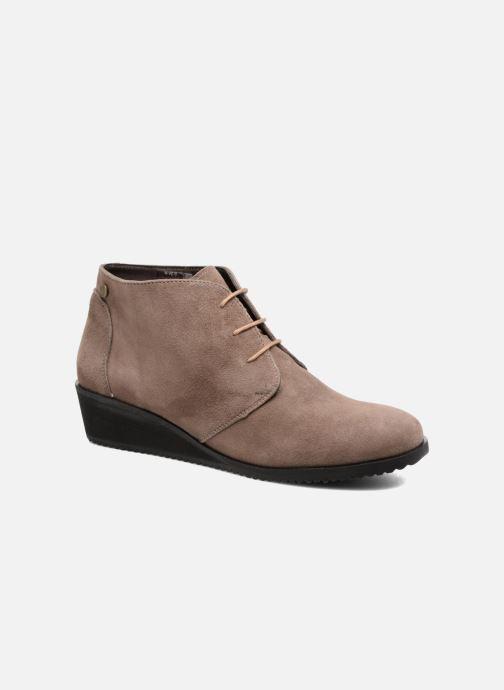 Bottines et boots Hush Puppies Colali Marron vue détail/paire