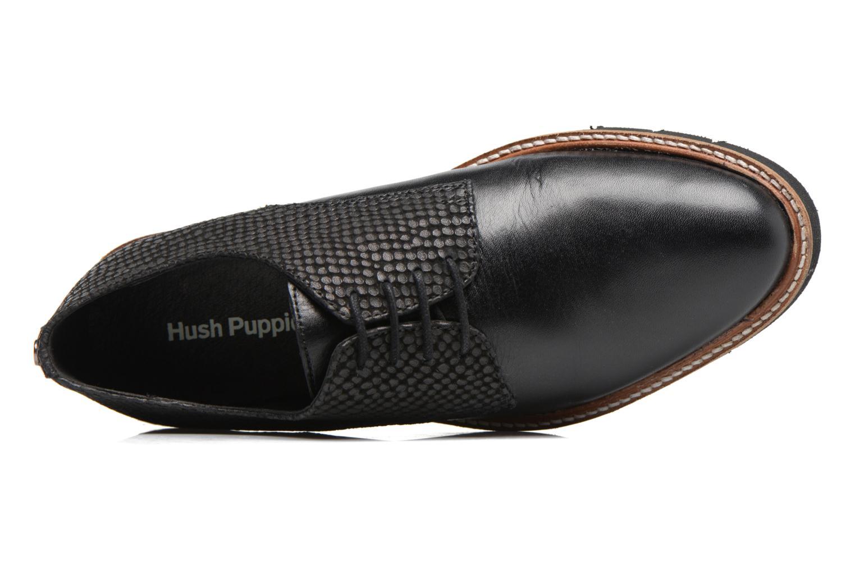 Chaussures à lacets Hush Puppies Saule Noir vue gauche