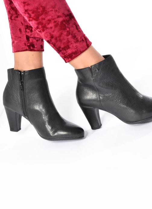 Bottines et boots Hush Puppies Morning Noir vue bas / vue portée sac