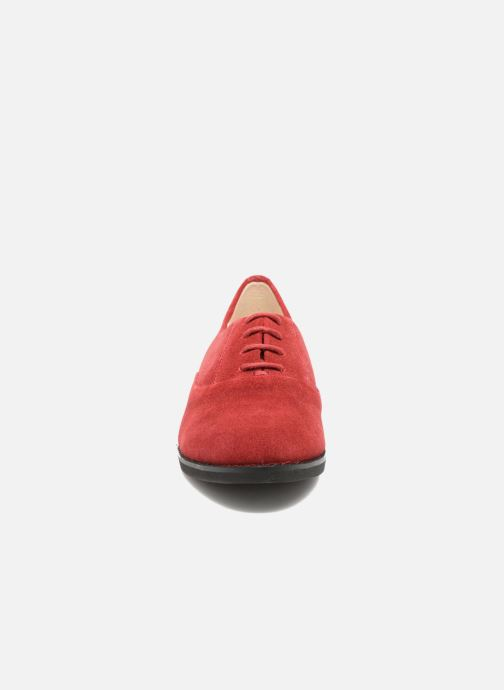 Lace-up shoes Hush Puppies Amou Red model view