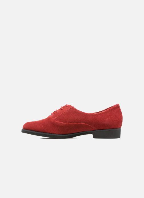 Chaussures à lacets Hush Puppies Amou Rouge vue face