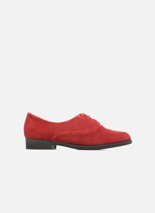 Chaussures à lacets Hush Puppies Amou Rouge vue derrière
