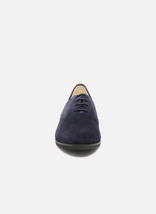 Chaussures à lacets Hush Puppies Amou Bleu vue portées chaussures