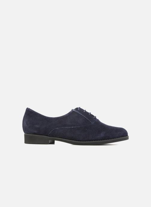 Chaussures à lacets Hush Puppies Amou Bleu vue derrière