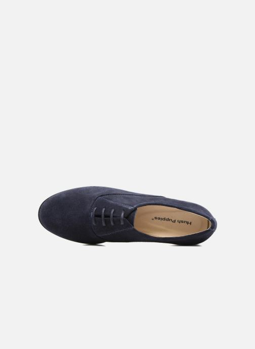 Chaussures à lacets Hush Puppies Amou Bleu vue gauche