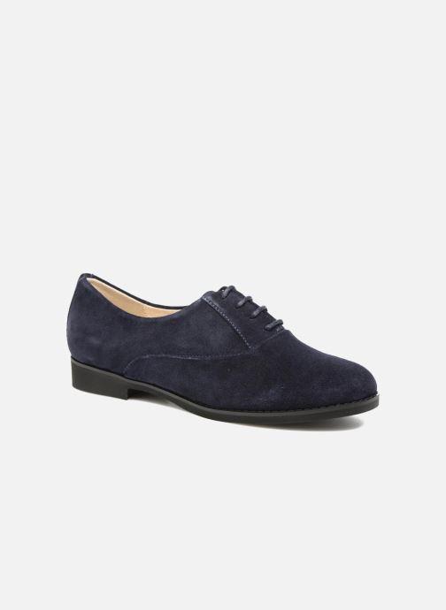 Chaussures à lacets Hush Puppies Amou Bleu vue détail/paire