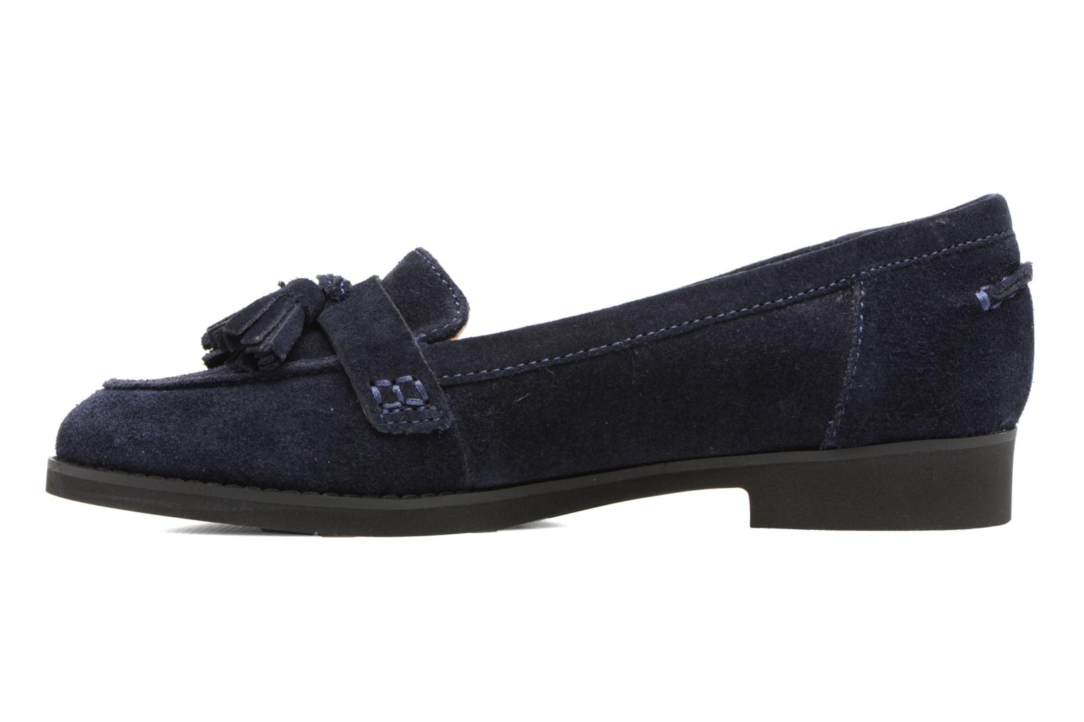 Loafers Hush Puppies Amya Blue front view