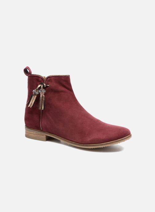 Bottines et boots Adolie Odeon Preppy Bordeaux vue détail/paire