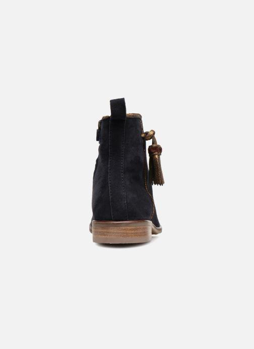 Bottines et boots Adolie Odeon Preppy Bleu vue droite