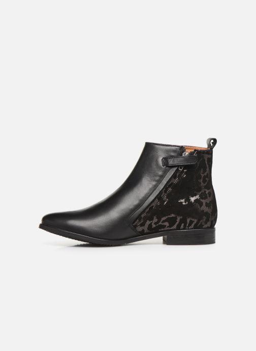 Boots en enkellaarsjes Adolie Odeon Preppy Zwart voorkant