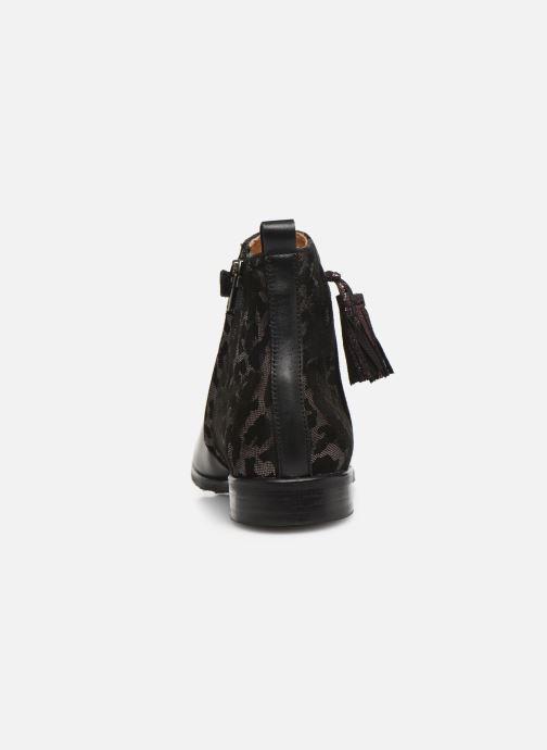Bottines et boots Adolie Odeon Preppy Noir vue droite