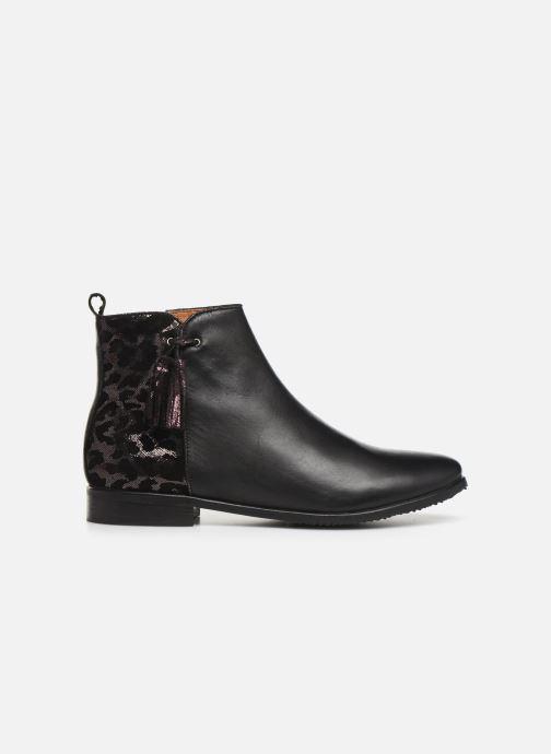 Boots en enkellaarsjes Adolie Odeon Preppy Zwart achterkant
