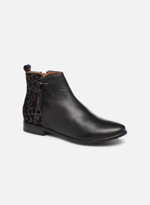 Boots en enkellaarsjes Adolie Odeon Preppy Zwart detail