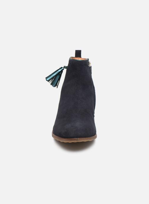 Bottines et boots Adolie Odeon Preppy Bleu vue portées chaussures