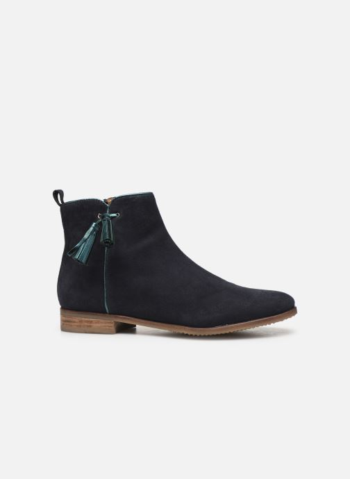 Ankle boots Adolie Odeon Preppy Blue back view