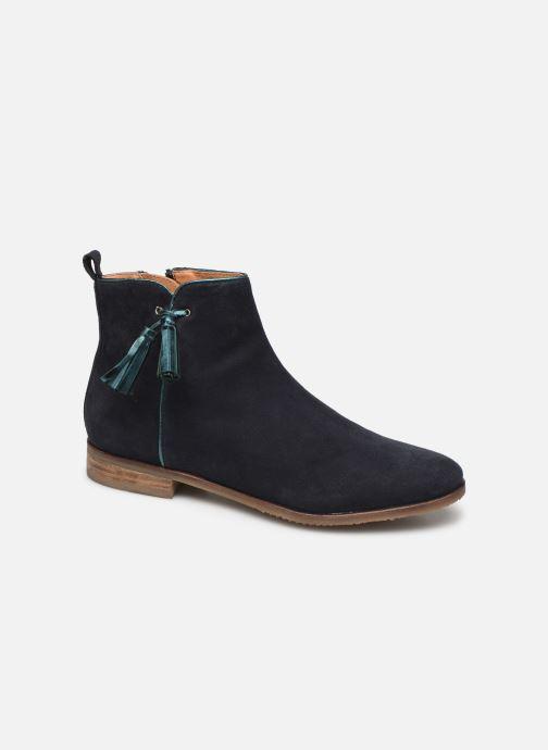 Boots en enkellaarsjes Adolie Odeon Preppy Blauw detail