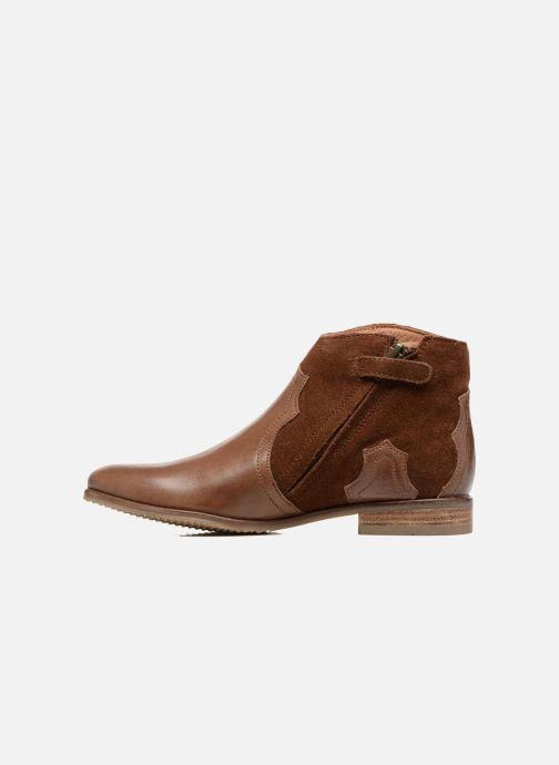 Bottines et boots Adolie Odeon West Marron vue face