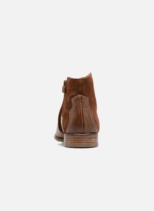 Bottines et boots Adolie Odeon West Marron vue droite