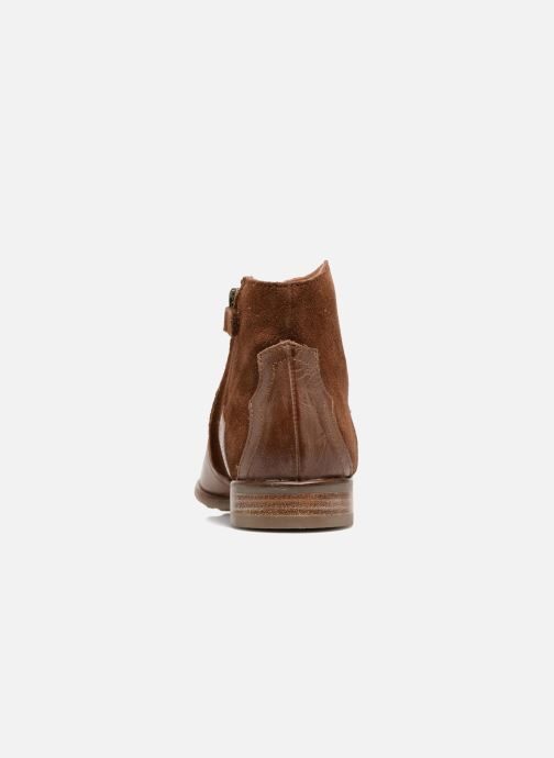 Ankle boots Adolie Odeon West Brown view from the right