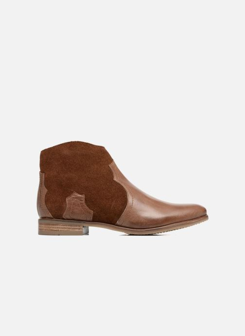 Ankle boots Adolie Odeon West Brown back view