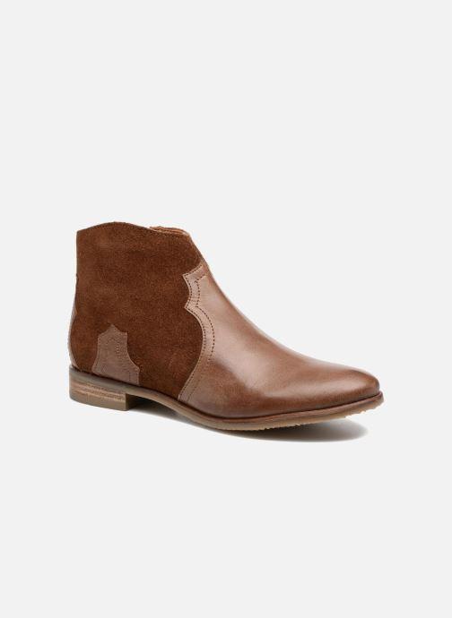 Bottines et boots Adolie Odeon West Marron vue détail/paire