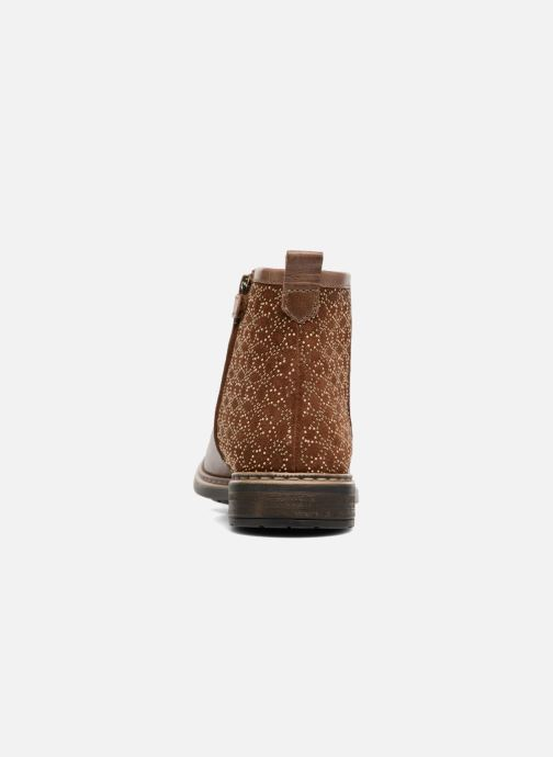 Ankle boots Adolie Picpus Stella Brown view from the right