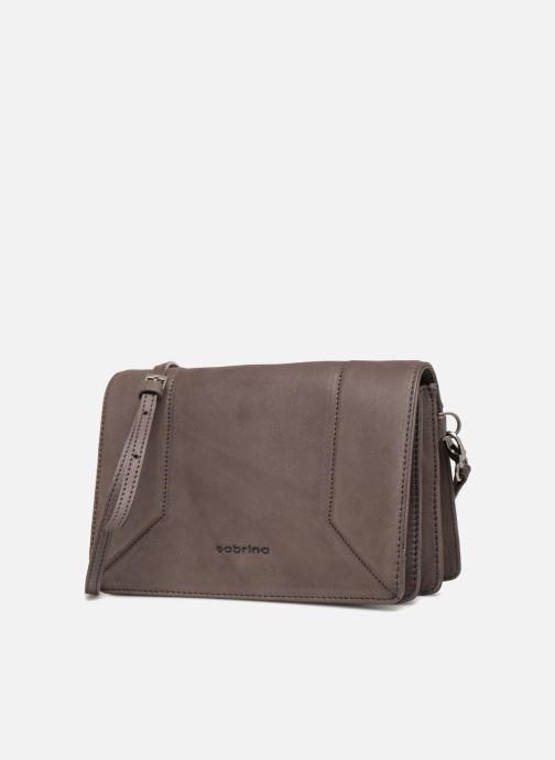 Handbags Sabrina Philippine Brown model view