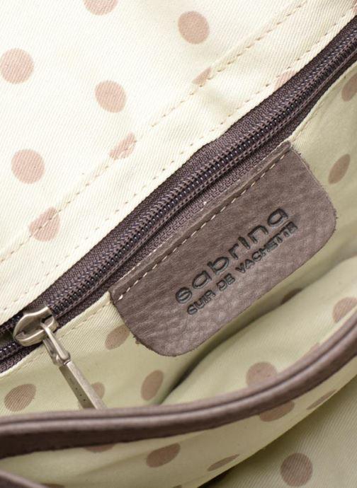 Handtaschen Sabrina Philippine braun ansicht von hinten