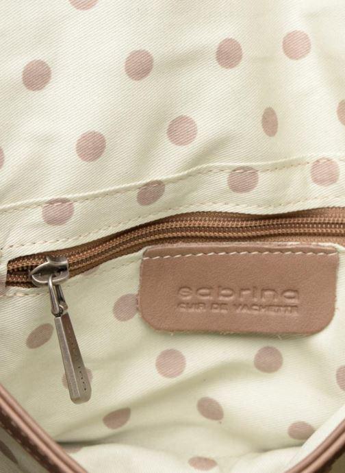 Handtassen Sabrina Philippine Beige achterkant