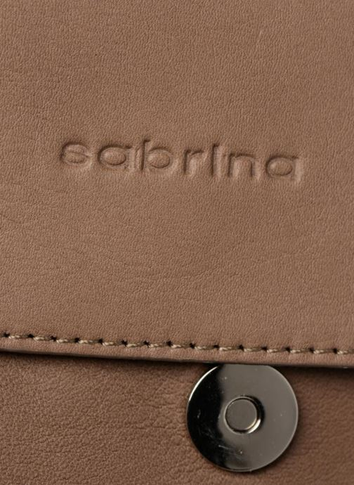 Handbags Sabrina Philippine Beige view from the left