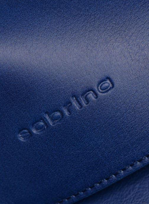 Handtaschen Sabrina Philippine blau ansicht von links