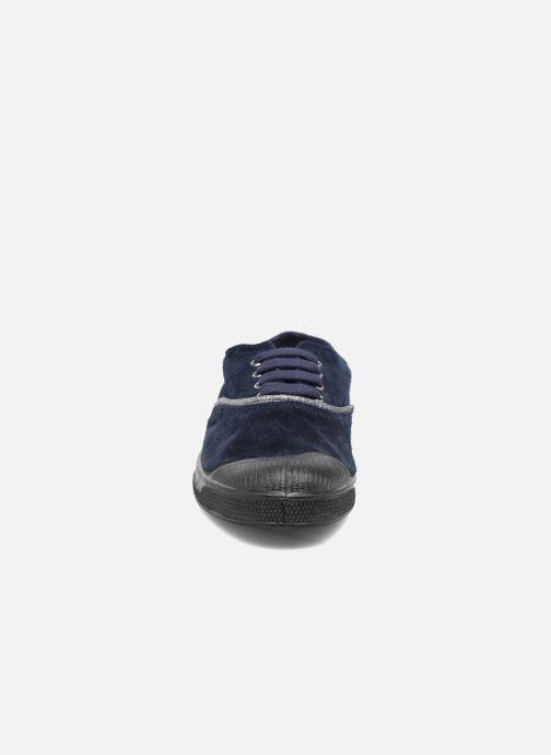 Sneakers Bensimon Tennis Suedpiping F Blauw model