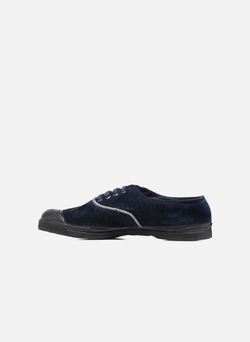 Sneakers Bensimon Tennis Suedpiping F Blauw voorkant