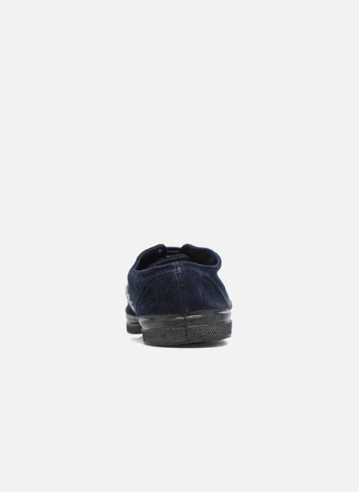 Sneakers Bensimon Tennis Suedpiping F Blauw rechts