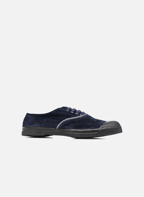 Sneakers Bensimon Tennis Suedpiping F Blauw achterkant