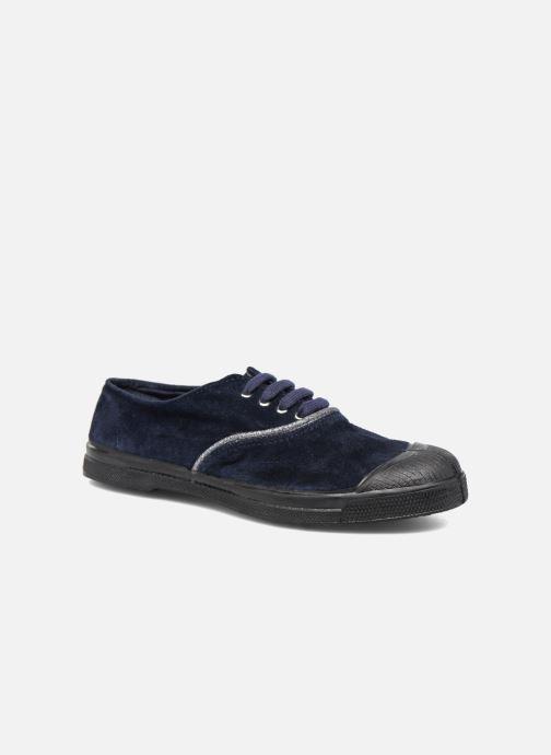 Sneakers Bensimon Tennis Suedpiping F Blauw detail