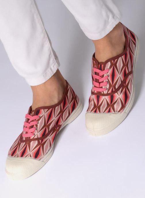 Sneakers Bensimon Tennis Losanges Pink se forneden
