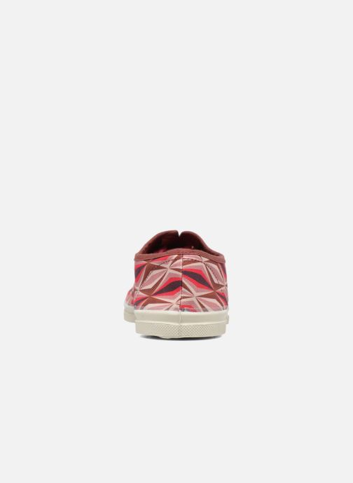Baskets Bensimon Tennis Losanges Rose vue droite