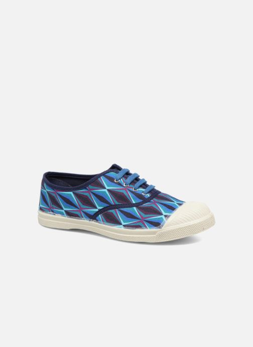 Trainers Bensimon Tennis Losanges Blue detailed view/ Pair view