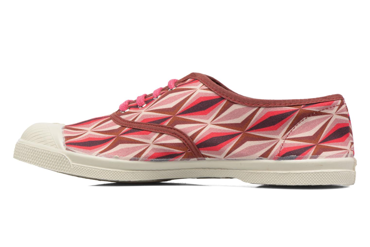 Trainers Bensimon Tennis Losanges Pink front view
