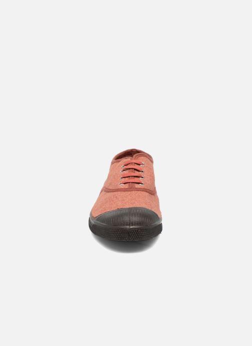 Sneakers Bensimon Tennis Woolvintage Arancione modello indossato