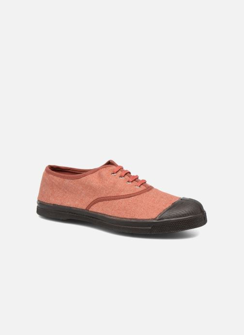 Trainers Bensimon Tennis Woolvintage Orange detailed view/ Pair view