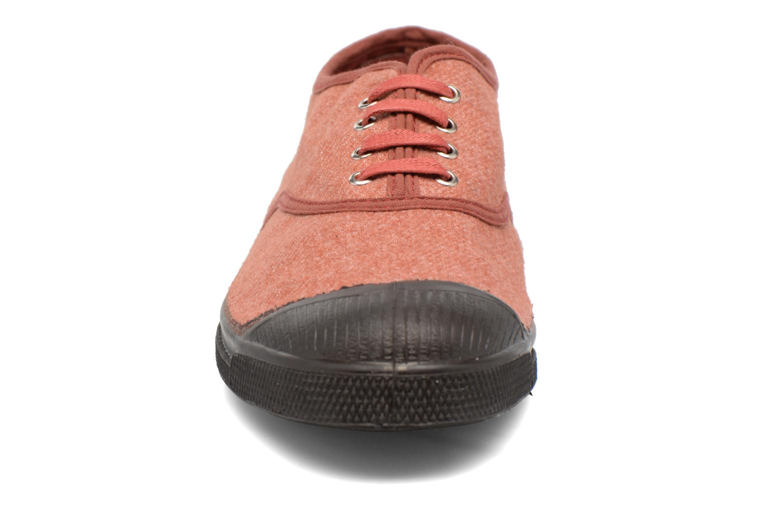 Trainers Bensimon Tennis Woolvintage Orange model view