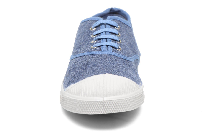 Trainers Bensimon Tennis Déperlantes Blue model view