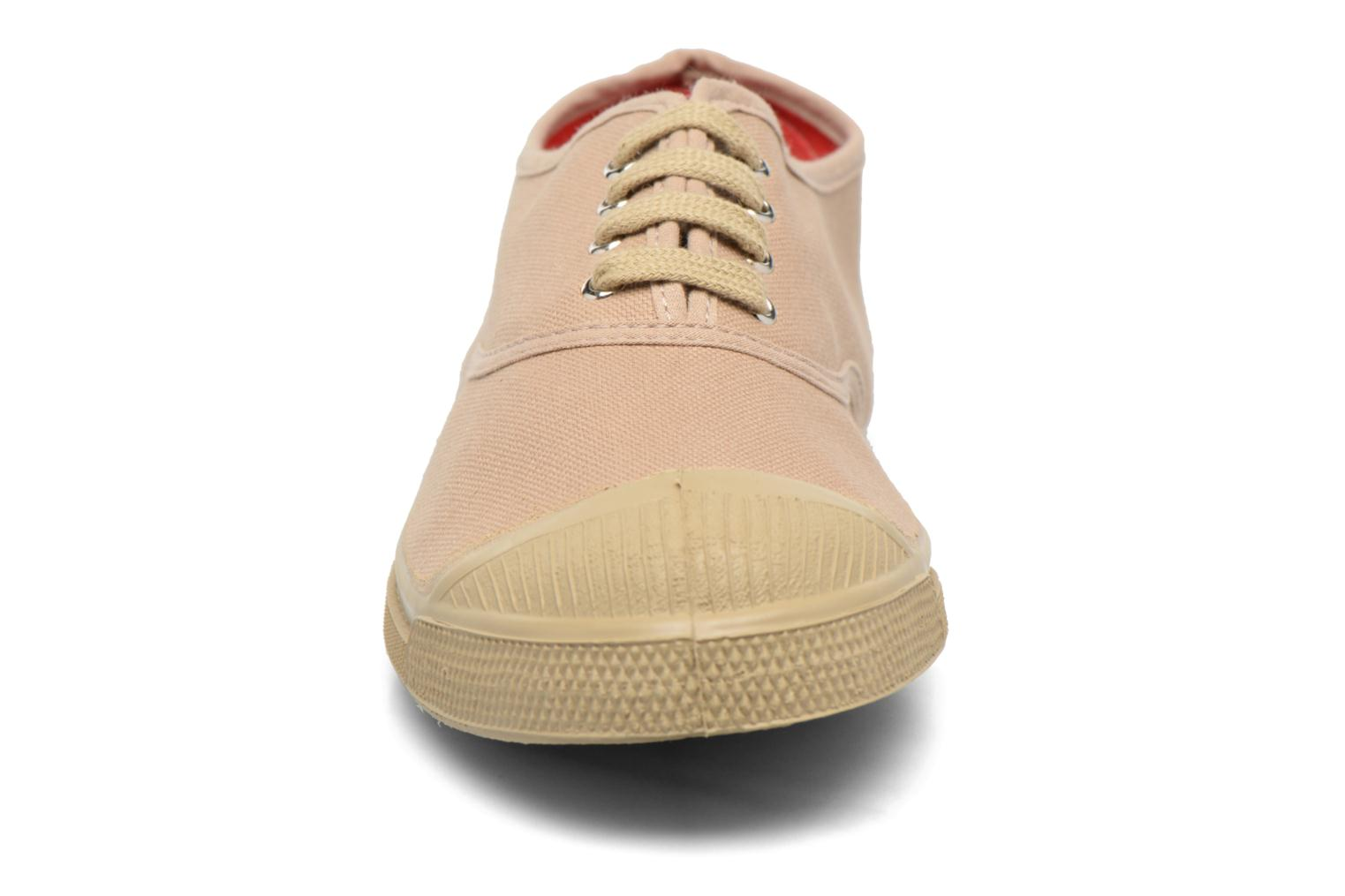 Trainers Bensimon Tennis Surplus F Beige model view