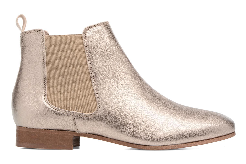 Boots en enkellaarsjes Bensimon Boots Chelsea Goud en brons achterkant