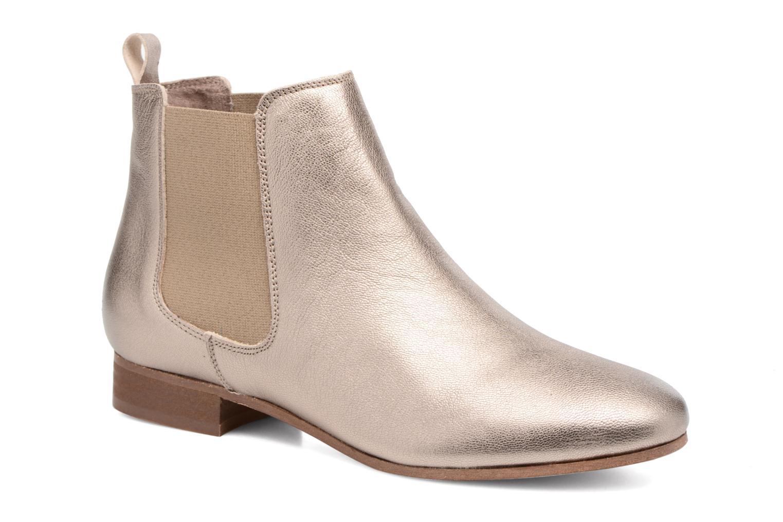 Boots en enkellaarsjes Bensimon Boots Chelsea Goud en brons detail