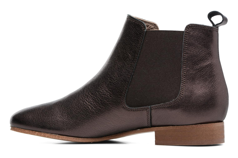 Boots en enkellaarsjes Bensimon Boots Chelsea Bruin voorkant