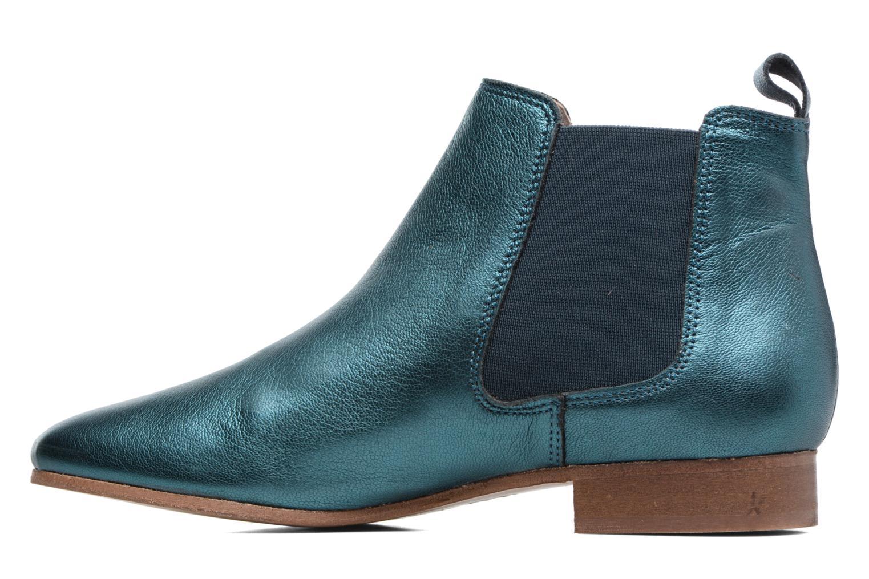 Stivaletti e tronchetti Bensimon Boots Chelsea Verde immagine frontale