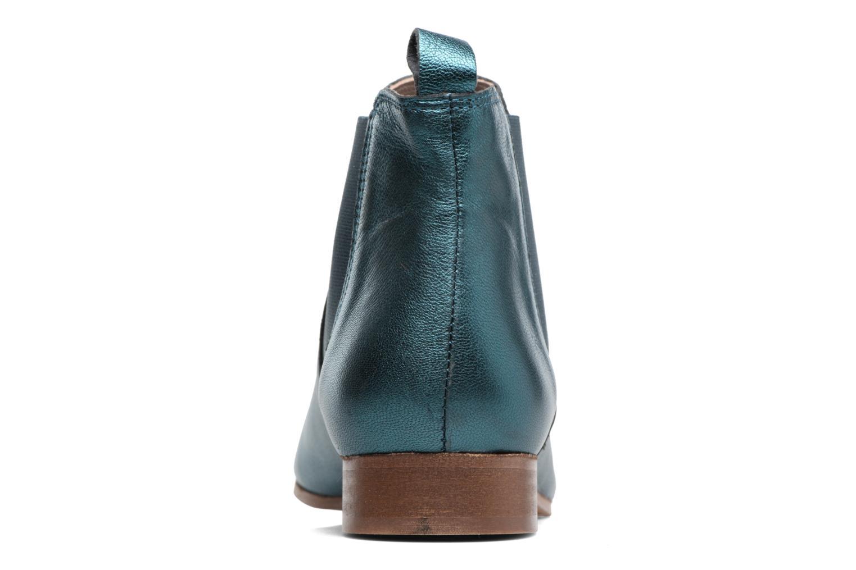 Stivaletti e tronchetti Bensimon Boots Chelsea Verde immagine destra